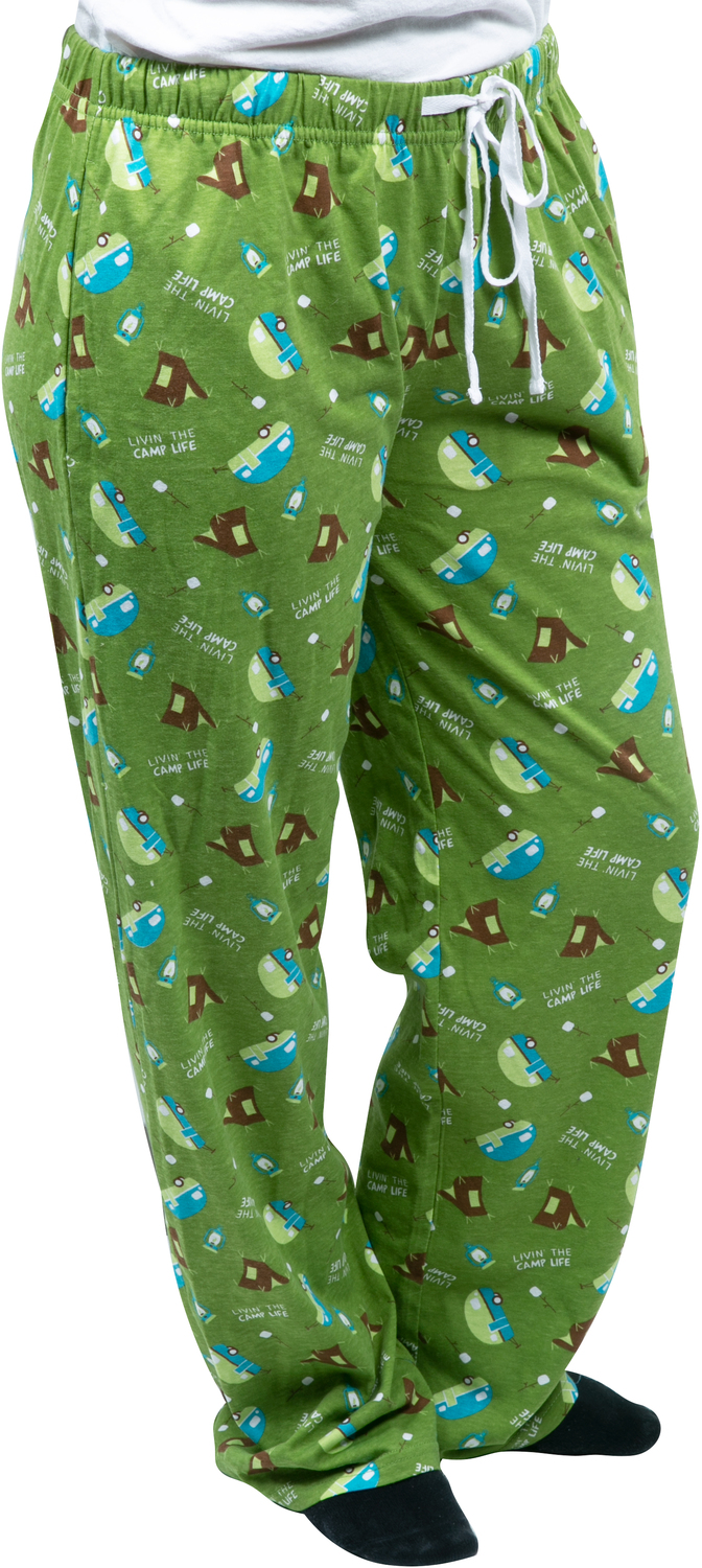 Camp Life by We People - Camp Life - XS Green  Unisex Lounge Pants