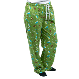 Camp Life by We People - XL Green Unisex Lounge Pants