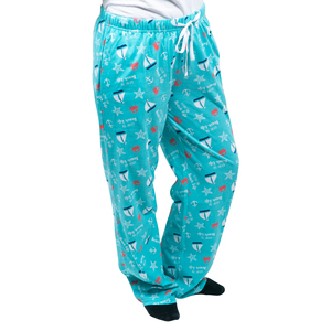 Beach Life by We People - XS Light Blue Unisex Lounge Pants