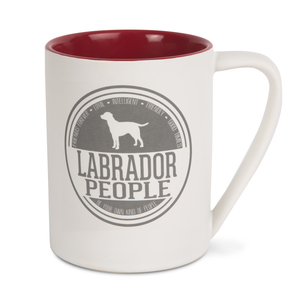 Labrador People by We Pets - 18 oz Mug