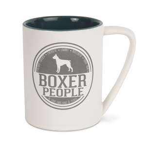 Boxer People by We Pets - 18 oz Mug