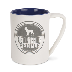 Boston Terrier People by We Pets - 18 oz Mug