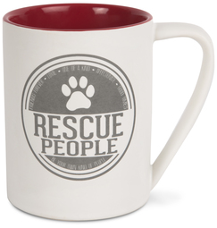Rescue People by We Pets - 18 oz Mug