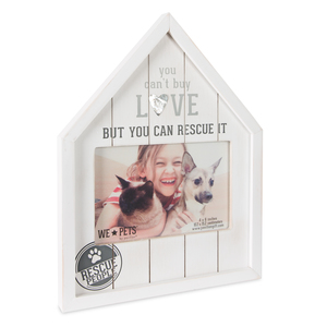 "Rescue People by We Pets - 8"" x 10.5"" Frame (Holds 6"" x 4"" Photo)"