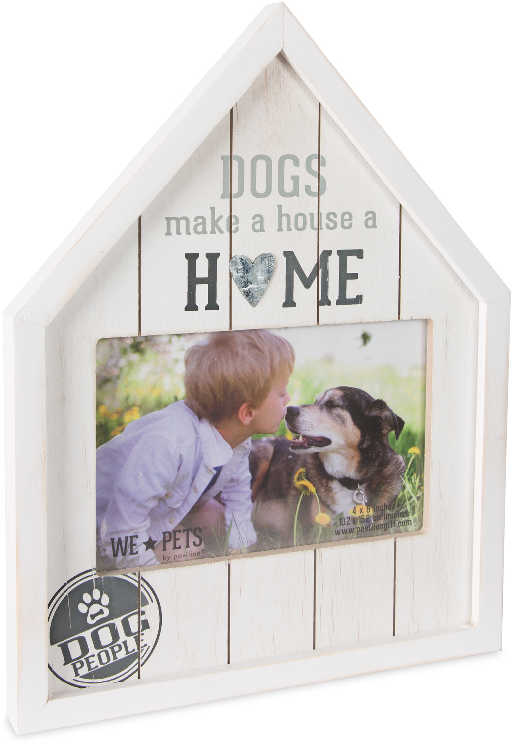 "Dog People by We Pets - Dog People - 8"" x 10.5"" Frame (Holds 6"" x 4"" Photo)"