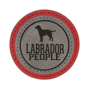 "Labrador People by We Pets - 2.5"" Magnet"