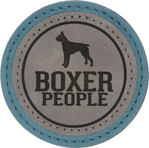 "Boxer People by We Pets - 2.5"" Magnet"