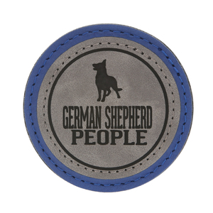 "German Shepherd People by We Pets - 2.5"" Magnet"