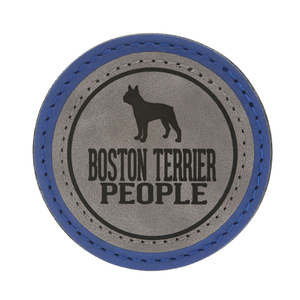 "Boston Terrier People by We Pets - 2.5"" Magnet"