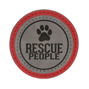 "Rescue People by We Pets - 2.5"" Magnet"