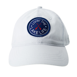 Lake Life by We People - White Adjustable Hat