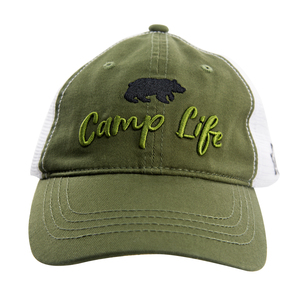 Camp by We People - Olive Green Adjustable Mesh Hat