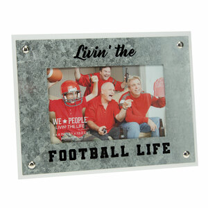"Football by We People - 8.5"" x 6.5"" Frame (Holds 4"" x 6"" Photo)"