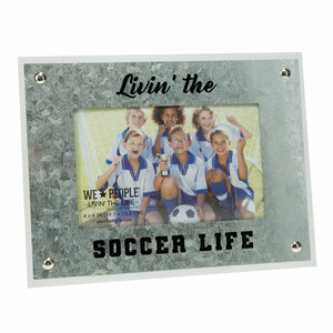 "Soccer by We People - 8.5"" x 6.5"" Frame (Holds 4"" x 6"" Photo)"