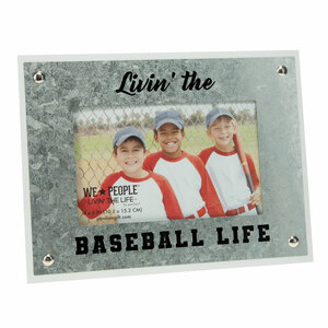 "Baseball by We People - 8.5"" x 6.5"" Frame (Holds 4"" x 6"" Photo)"