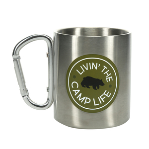 Camp by We People - 10 oz Stainless Steel Carabiner Mug