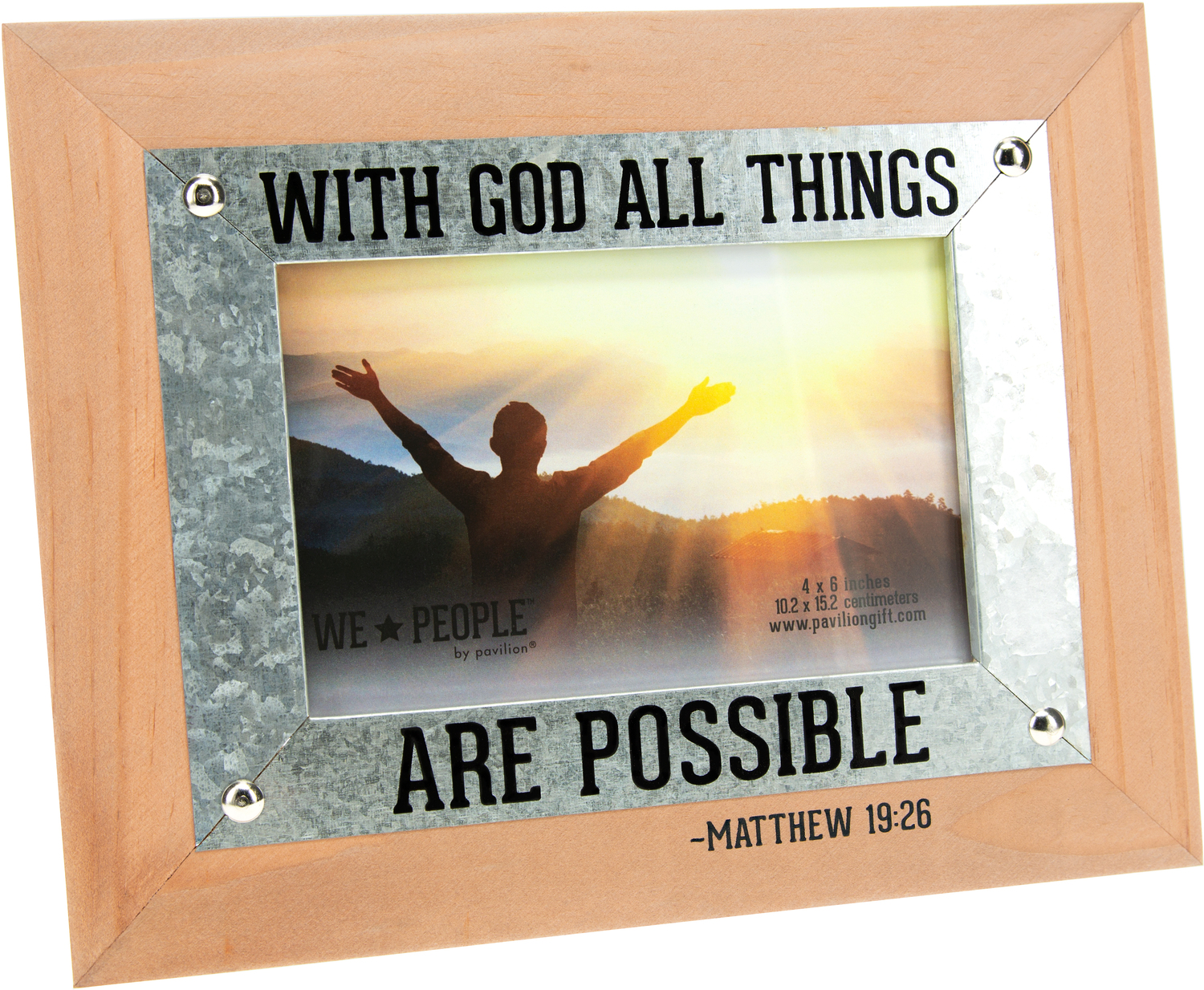 "Jesus Lovin' People by We People - Jesus Lovin' People - 9.5"" x 7.5"" Frame (Holds 6"" x 4"" Photo)"