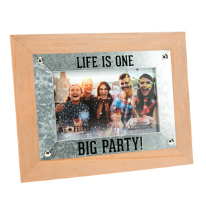 "Party People by We People - 9.5"" x 7.5"" Frame (Holds 6"" x 4"" Photo)"