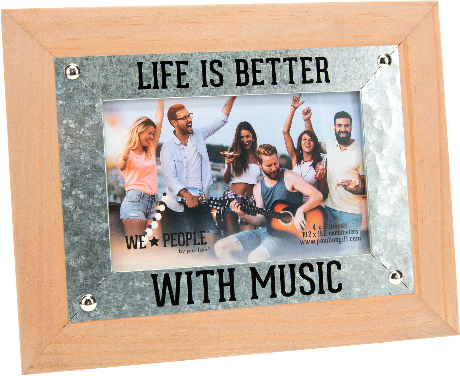 "Music People by We People - Music People - 9.5"" x 7.5"" Frame (Holds 6"" x 4"" Photo)"