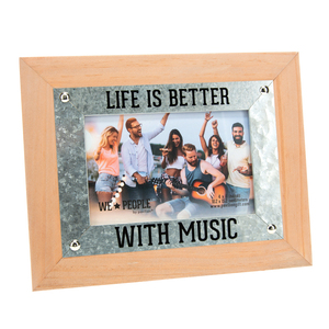 "Music People by We People - 9.5"" x 7.5"" Frame (Holds 6"" x 4"" Photo)"