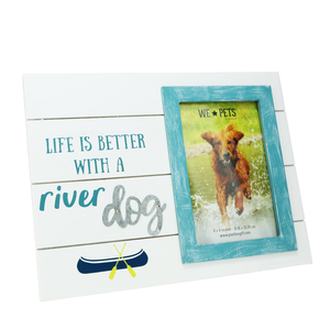"River Dog by We Pets - 10.5"" x 8"" Frame (Holds 6"" x 4"" Photo)"