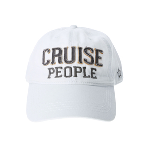 Cruise People by We People - White Adjustable Hat