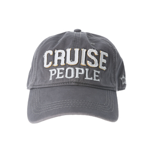 Cruise People by We People - Dark Gray Adjustable Hat