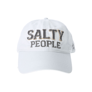 Salty People by We People - White Adjustable Hat
