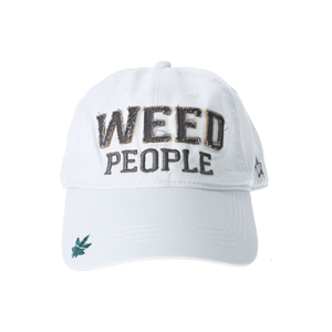 Weed People by We People - White Adjustable Hat