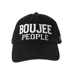 Boujee People by We People - Black Adjustable Hat