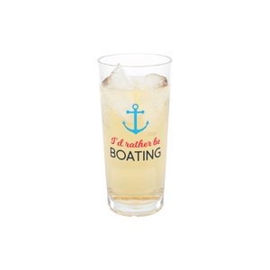 Rather be Boating by We People - 11 oz Tritan Highball Glass