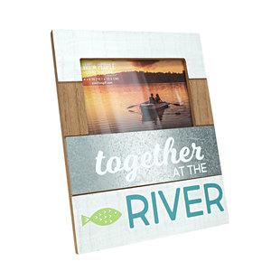 "River by We People - 7.75"" x 10"" Frame (Holds 4"" x 6"" Photo)"