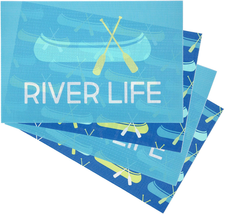 River Placemat Gift Set 4 17 75 X 11 75 We People Pavilion