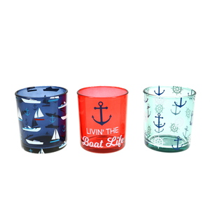 Boat by We People -  3 Assorted Votive Holders