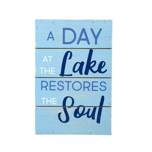 "Lake Soul by We People - 4"" x 6"" MDF Plaque"
