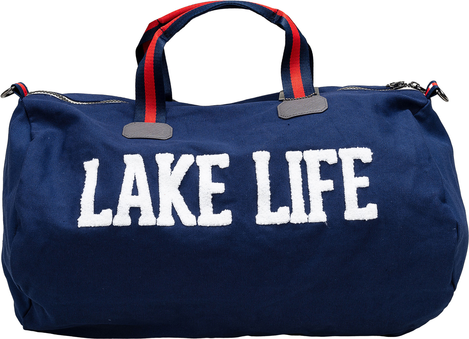 "Lake Life by We People - Lake Life - 21.5"" x 13"" Canvas Duffle Bag"