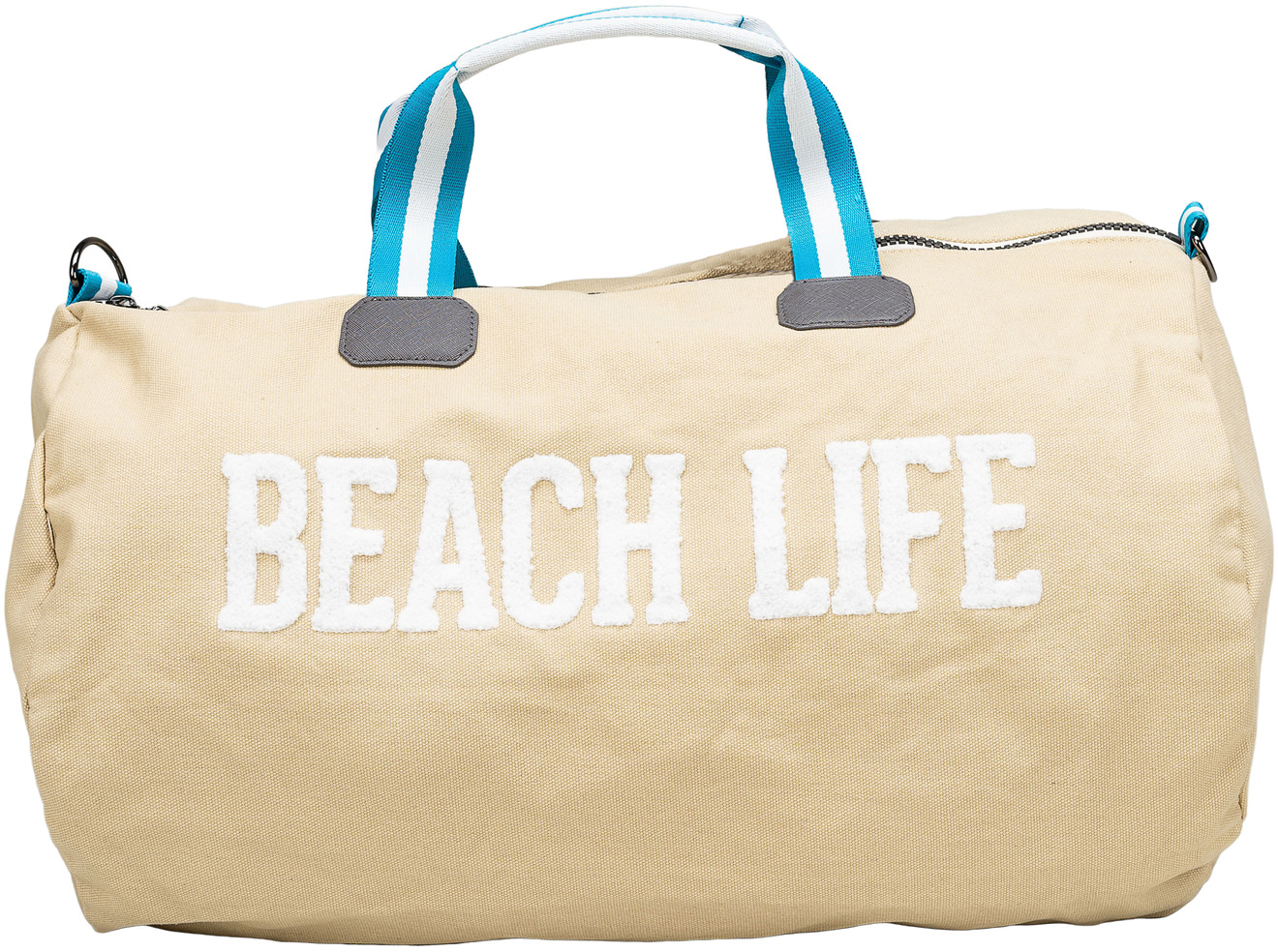 "Beach Life by We People - Beach Life - 21.5"" x 13"" Canvas Duffle Bag"