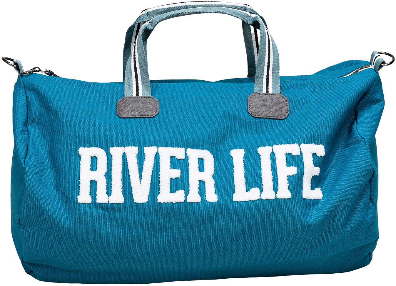 "River Life by We People - River Life - 21.5"" x 13"" Canvas Duffle Bag"