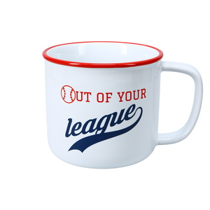 Out Of Your League by We People - 17 oz Mug