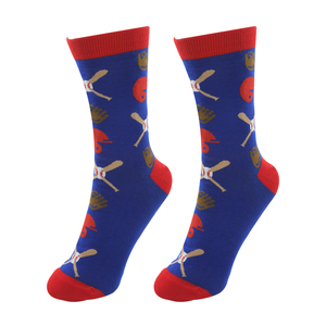 Baseball Life by We People - S/M Unisex Socks