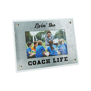 "Coach Life by We People - 8.5"" x 6.5"" Frame (Holds 4"" x 6"" Photo)"