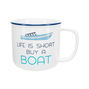 Buy a Boat by We People - 17 oz Mug