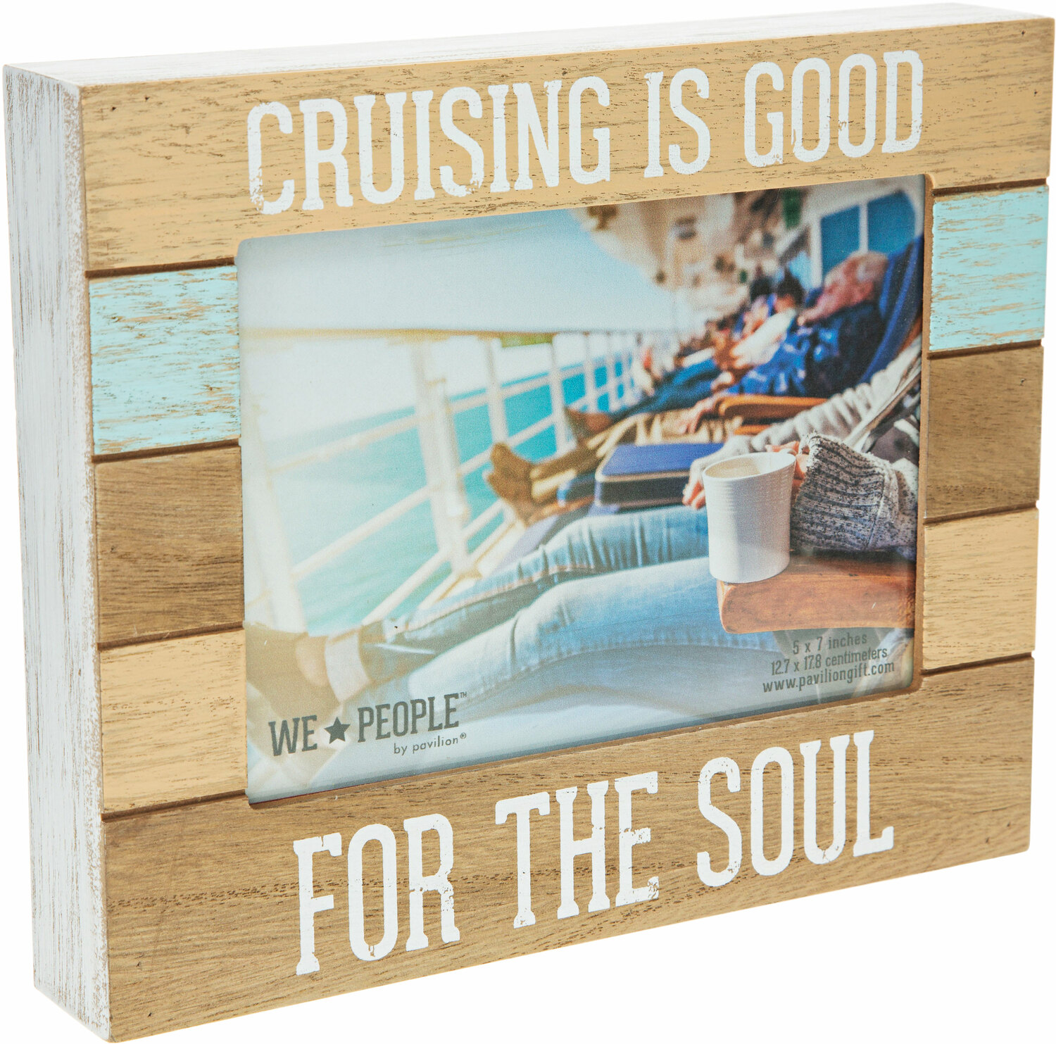 "Cruise People by We People - Cruise People - 9"" x 7.25"" Frame (Holds 5"" x 7"" photo)"