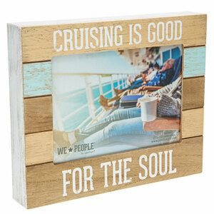 "Cruise People by We People - 9"" x 7.25"" Frame (Holds 5"" x 7"" photo)"