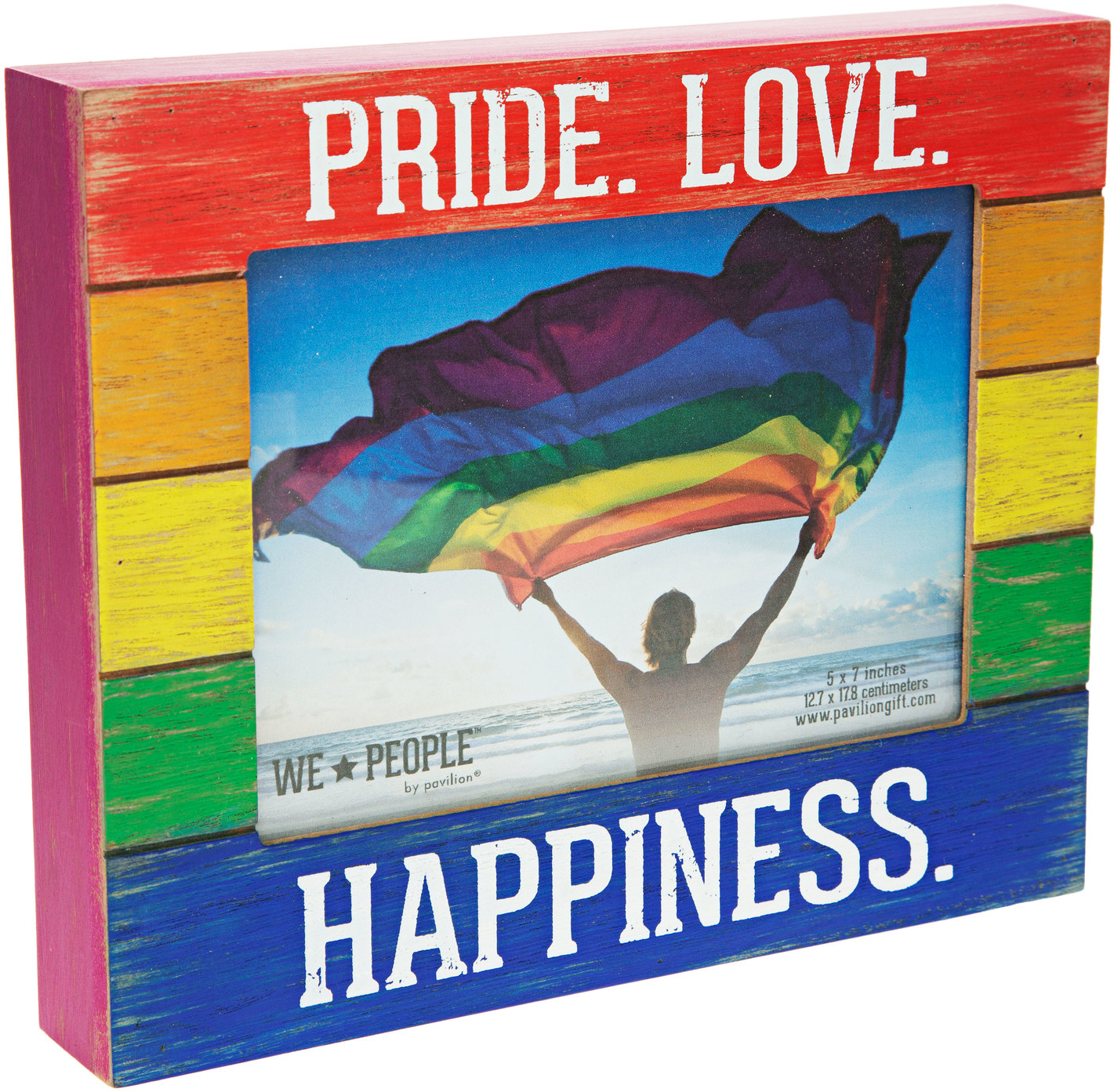 "Pride People by We People - Pride People - 9"" x 7.25"" Frame (Holds 5"" x 7"" photo)"