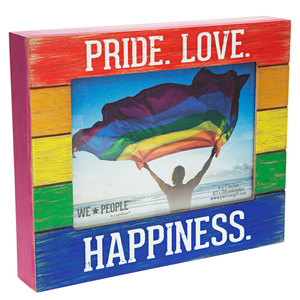 "Pride People by We People - 9"" x 7.25"" Frame (Holds 5"" x 7"" photo)"
