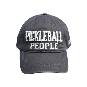 Pickleball People by We People - Dark Gray Adjustable Hat