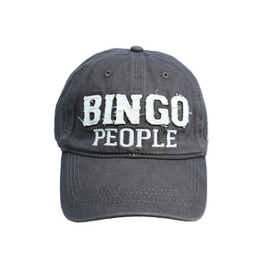 Bingo People by We People - Dark Gray Adjustable Hat