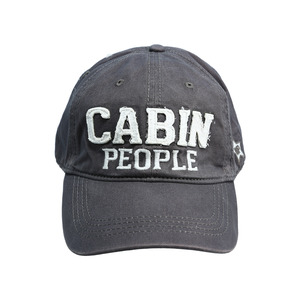 Cabin People by We People - Dark Gray Adjustable Hat