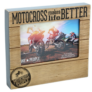 "Motocross People by We People - 6.75"" x 7.5"" Frame (Holds 4"" x 6"" photo)"